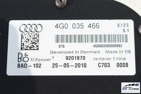 AUDI A7 GŁOŚNIKI + WZMACNIACZE 4G0035465 4G0035466 BANG & OLUFSEN głośnik wzmacniacz nagłośnienie 4G8035300 4G0035825 4G8035825