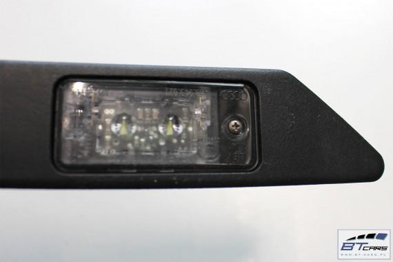 AUDI LAMPKI LED OŚWIETLENIE REJESTRACJI 8E0827574F 8E0 827 574 F LISTWA Z LAMPKAMI TYLNEJ TABLICY REJESTRACYJNEJ 8V, 8F, 4H