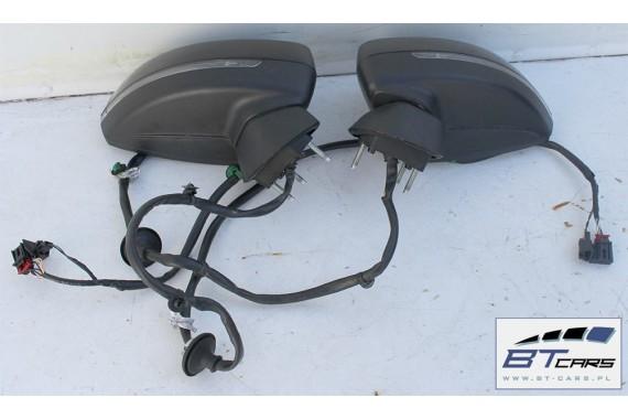 AUDI A3 CABRIO LUSTERKO DRZWI LEWE 10+2 pin 8V 8V7 zewnętrzne pinów kabli przewodów LZ9Y - czarny phantom 8V0