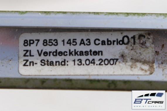 AUDI A3 CABRIO LISTWY KAROSERYJNE LISTWA 8P