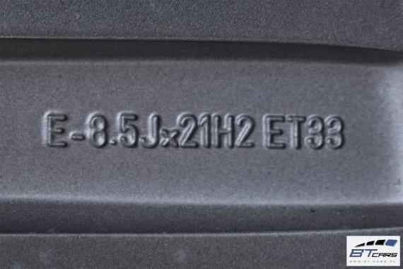 AUDI Q5 SQ5 FELGI 21 cali + OPONY LATO KOŁA felga  8R0601025AM/8R0601025CP 8,5J*21H2 ET33 opona Pirelli P Zero 255/40/21 102Y 8R