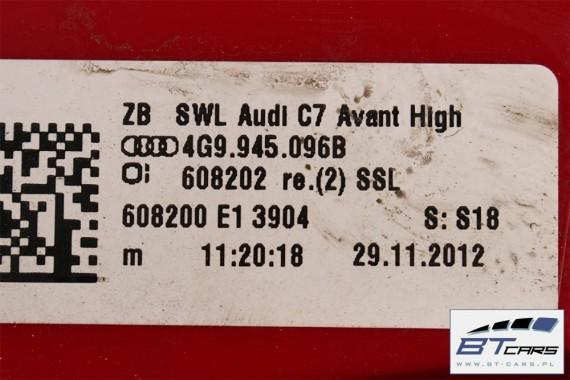 AUDI A6 KOMBI LAMPY LED TYŁ 4G9945093B 4G9945094B 4G9945095B 4G9945096B lampa ALLROAD AVANT G6 C7 4G9 945 093 B 094 B TYL