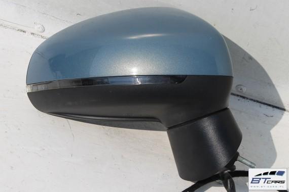 AUDI A1 LUSTERKO DRZWI PRAWE 8 pin LX5X 8X zewnętrzne pinów kabli LX5X - niebieski (Spharenblau metallic)