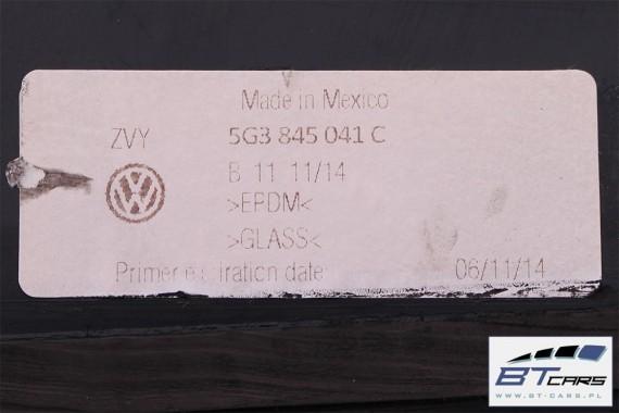VW GOLF 7 VII SZYBA KAROSERYJNA BOCZNA 5G3845041 5G3845042C 5G3845041 5G3845042C 5G3 845 041 C 5G3 845 042 C 2012 2013 5G