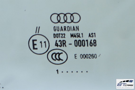 AUDI A1 SZYBA PRZEDNIA CZOŁOWA PRZÓD 8X0845099  8X0 845 099 2011