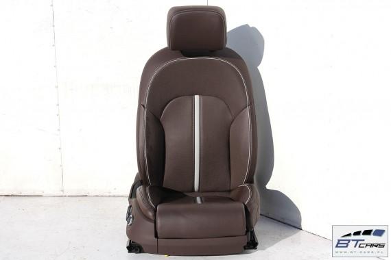 AUDI A6 4G FOTELE KOMPLET FOTELI siedzeń siedzenia fotel tapicerka 2010- wersja EXCLUSIVE C7