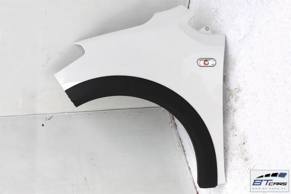 VW CROSS UP BŁOTNIK LEWY PRZEDNI PRZÓD Kolor: LB9A - biały (candy white)