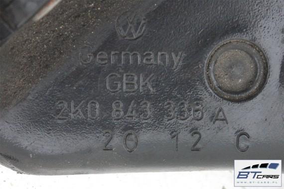 VW CADDY ZAWIAS PROWADNICA DRZWI 2K0843335A , 2K0843336A  2K0 843 335 A 2K0 843 336 A