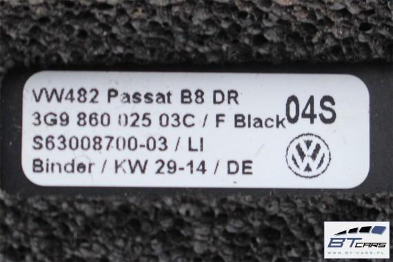 VW PASSAT B8 KOMBI RELINGI DACHOWE 3G9860025 3G9860026 3G9 860 025 3G9 860 026 Kolor: 03C - czarny reling dachowy 2 sztuki