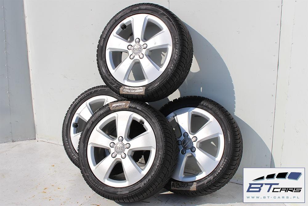 Audi A3 Tt Felgi 17 Opony Zimowe Koła Felga 8v0601025c 6j17h2 Et48
