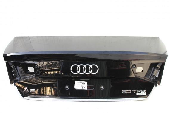 AUDI A8 KLAPA BAGAŻNIKA TYŁ tylna czarna Kolor: LZ9Y - czarny phantom  D4 4H 4H0 2010-2014