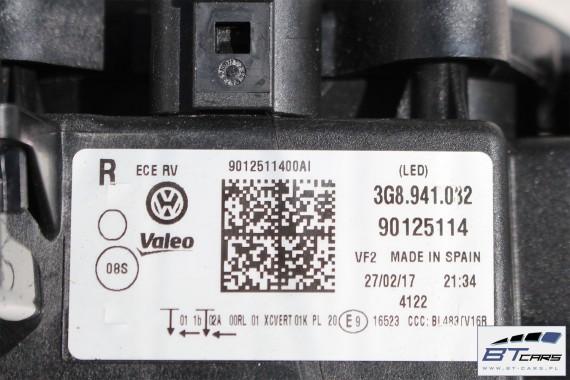 VW ARTEON LC9A PRZÓD maska błotniki zderzak pas przedni lampy wzmocnienie błotnik lampa Full Led 3G8 Kolor  biały KOMPLETNY