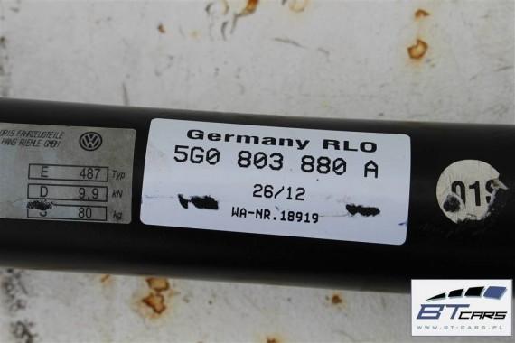 VW GOLF 7 VII HAK HOLOWNICZY + BELKA TYŁ tylna zderzaka + MODUŁ STEROWNIK 5G0803880 5G0803880A 5Q0907383A 5Q0907383C 5G0 803 880