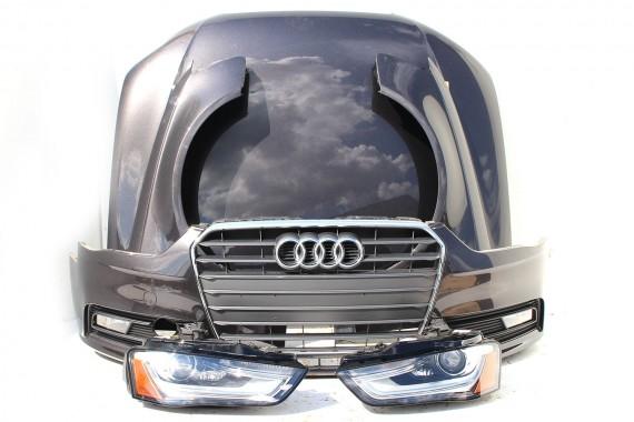 Audi A4 Kompletny Przód Maska Błotniki Zderzak Pas Przedni
