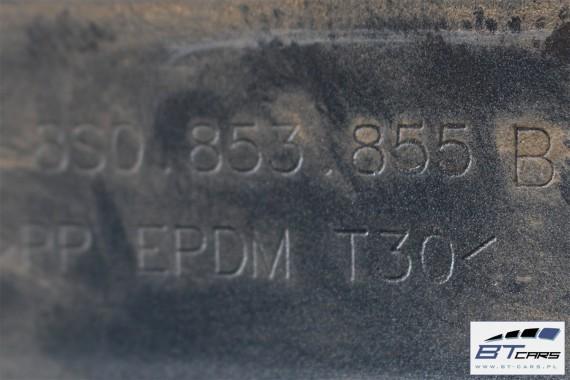 AUDI TT LISTWA PROGOWA 8S0853855B 8S0853856B 8S0 853 855 B 8S0 853 856 B PRÓG 8S LX7R - szary (monsungrau)