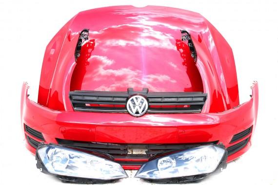 VW GOLF 7 VII PRZÓD maska...