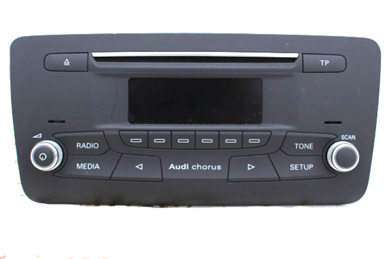 audi a1 fl radioodtwarzacz cd radio 8xa035160 8xa 035 160. Black Bedroom Furniture Sets. Home Design Ideas