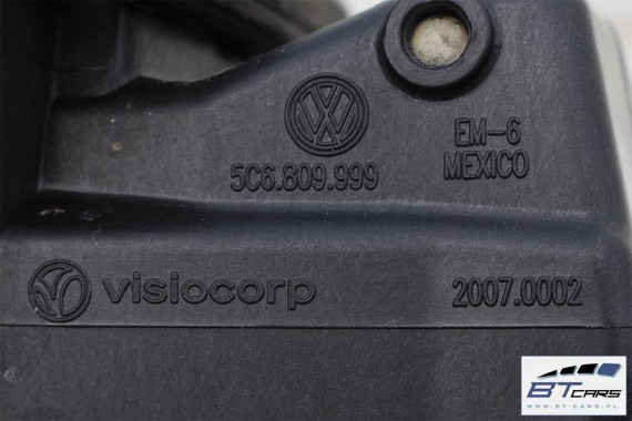 VW JETTA KLAPKA WLEWU PALIWA + KOREK 5C6809999 5C6 809 999 5C Kolor: srebrny