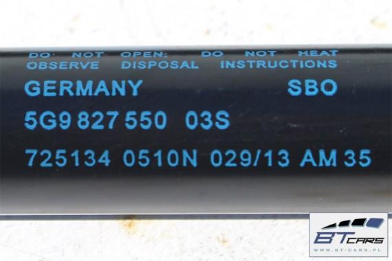 VW GOLF 7 KOMBI TELESKOP KLAPY BAGAŻNIKA 5G9827550 siłownik 5G9 827 550 amortyzator