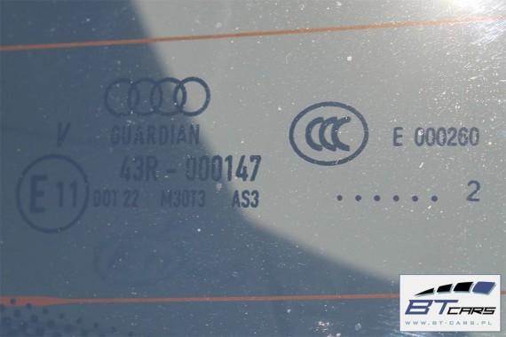 AUDI A6 KOMBI KLAPA BAGAŻNIKA TYLNA TYŁ 4G 4G9 Avant Kolor: LY1P - dakota grey (dakota grau)