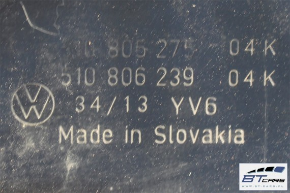 VW SPORTSVAN PODSZYBIE METALOWE 510805275 510806239 510 805 275 510 806 239
