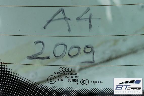 AUDI A4 SEDAN SZYBA TYLNA TYŁ 2009 8K 8K5 B8 8K0 8K5 845 501  8K5845501