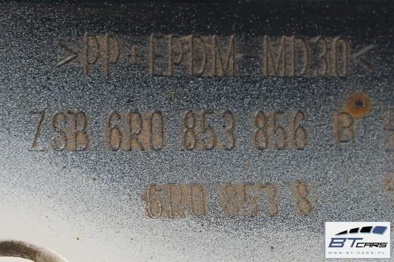 VW POLO LISTWA PROGOWA PRÓG 6R0853855B 6R0853856B 6R0 853 855 B 6R0 853 856 B LC9A - biały (pure white) 6R 6C  listwa progowa