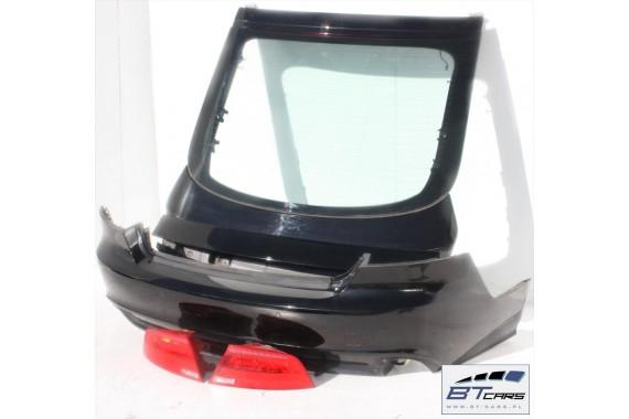 AUDI A7 TYŁ ZDERZAK tylny + KLAPA BAGAŻNIKA + LAMPY lampa 4G 4G8 Kolor:  LY9B - brylantowy czarny Q2 Q2Q2