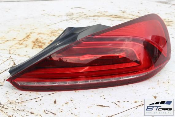 VW SCIROCCO LIFT KOMPLETNY TYŁ ZDERZAK tylny + KLAPA BAGAŻNIKA + LAMPY lampa LED 1K8 FL 2014- Kolor: LC9X - głęboka czerń