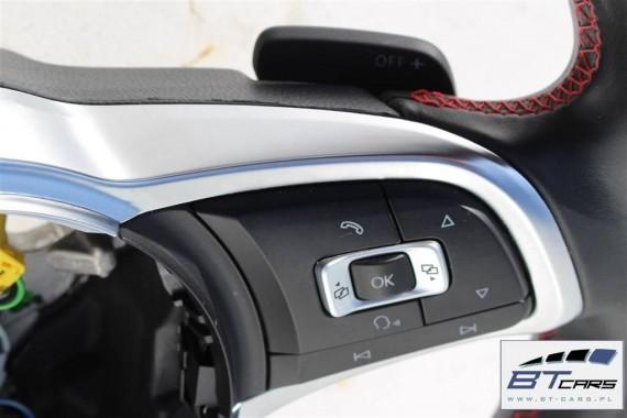 VW GOLF VII 7 GTi KIEROWNICA + BIEGI 5G0419091R 5G0 419 091 R skórzana wielofunkcyjna z manetkami
