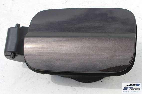 AUDI A6 KLAPKA WLEWU PALIWA + KOREK 4G C7 4G0809906 4G0 809 906 kolor LY8Z - brązowy (javabraun metallic)