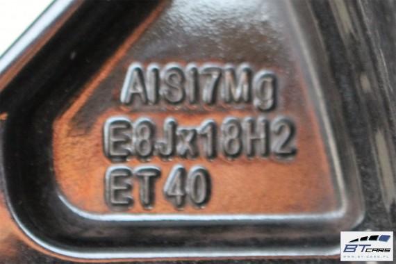 AUDI A4 A5 FELGI 18 8W0601025BC OPONY LATO KOŁA FELGA 8W F5 felga 8W0 601 025 BC  opona Hankook Ventus S1 evo2 245/40/18 93Y