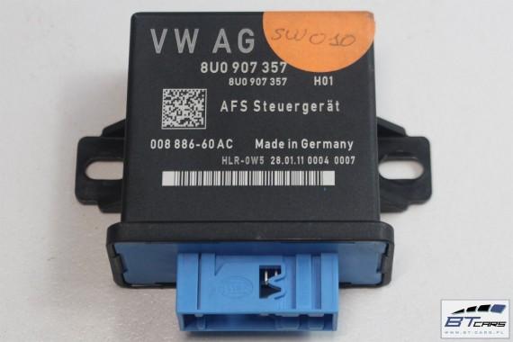AUDI Q3 STEROWNIK ŚWIATEŁ DOŚWIETLANIA 8U0907357  8U0 907 357 moduł regulacji zasięgu reflektorów i doświetlania zakrętów 8U