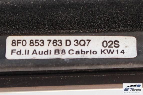 AUDI A5 CABRIO USZCZELEKI USZCZELKA KOMPLET 8F 8F0839479 8F0831707 8F0839480 8F0853763D 8F0853764D 8F0827705A 8F0831707