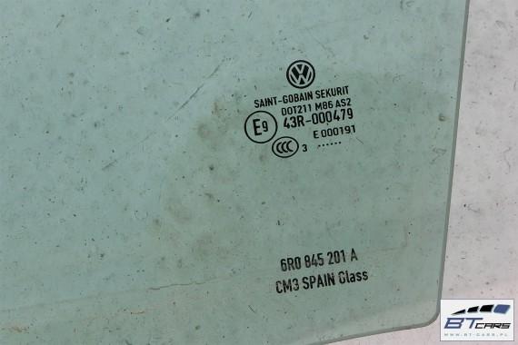 VW POLO SZYBA DRZWI 6R0845201A 6R0 845 201 A DRZWIOWA PRZEDNIA LEWA 6R 6R4 2013 SZYBY