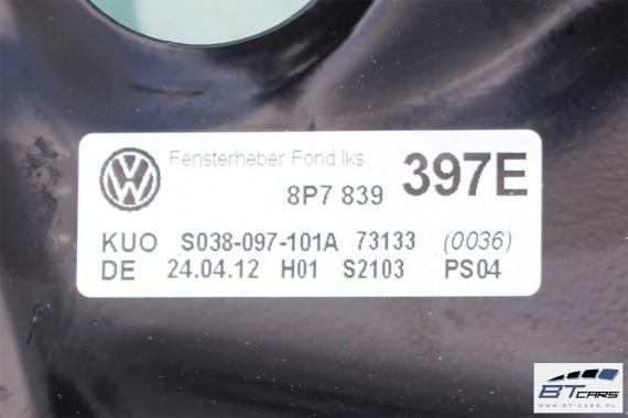 VW GOLF 6 VI AUDI A3 CABRIO SZYBA TYŁ + MECHANIZM 8P7839398E 8P7839397E 8P7 839 398 E