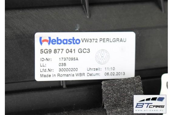 VW GOLF VII 7 VARIANT KOMBI DACH SZKLANY SZYBERDACH SOLAR 5G9877071 5G9 877 071 5G