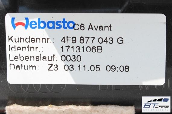 AUDI A6 ALLROAD AVANT SZYBERDACH 4F9877043G 4B0959591H 4B0959591J 4B0959591K 4F kombi  4F9 877 043 G solar dach