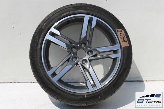 AUDI A4 A5 FELGI 18 cali OPONY LATO KOŁA felga 8W0601025M 8J*18H2 ET40 opona Pirelli Cinturato P7 245/40/18 97H 8W 2015-