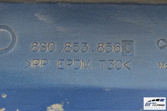 AUDI TT LISTWA PROGOWA S-LINE 8S0853855C 8S0853856C 8S0 853 855 C 8S0 853 856 C  8S