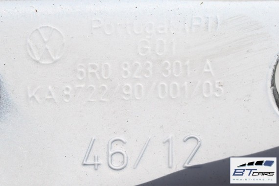 VW POLO ZAWIAS MASKI ZAWIASY 6R0823301A 6R0823302A / 6R 6C przód przedni 6R0 823 301 A 6R0 823 302 A 6R0823301B 6R0823302B