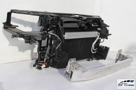 AUDI A8 PAS PRZEDNI WZMOCNIENIE PRZÓD PRZEDNIE wentylatory chłodnica wody 2 szt. , klimatyzacji belka zamek linka 3.0 TFSi 4H D4