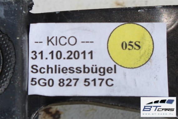VW GOLF 7 VII ZAMEK KLAPY BAGAŻNIKA 5G0827517C 5G0 827 517 C