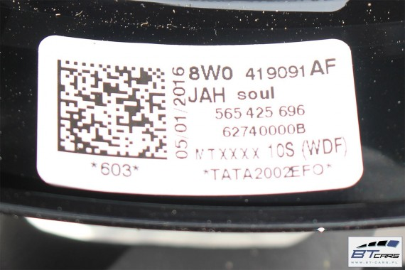 AUDI A3 A4 A5 Q2 KIEROWNICA S-LINE 8W0419091AF 8W0419091DH 8W0 419 091 AF 8W0 419 091 DH