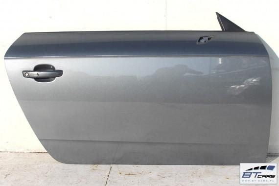 AUDI TT DRZWI PRAWE STRONA PRAWA LX7R 8S Kolor: LX7R - szary (monsungrau)