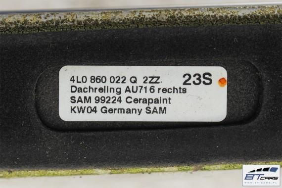 AUDI Q7 , LIFT FL RELINGI DACHOWE 4L0860021Q reling dachowy  4L0 860 021 Q 4L0 860 022 Q Kolor: 2ZZ - chrom 4L