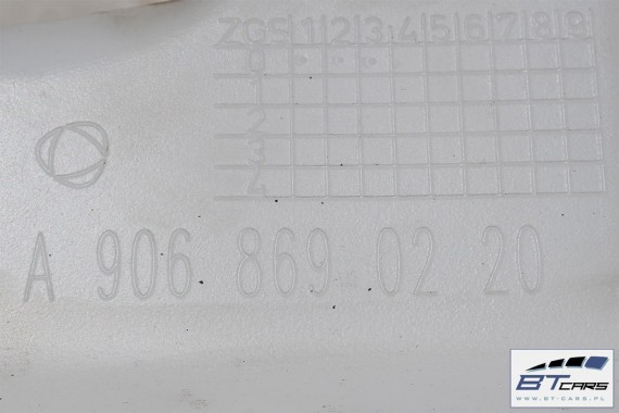 VW CRAFTER SPRINTER 906 ZBIORNIK SPRYSKIWACZY A 906 869 02 20  A9068690220