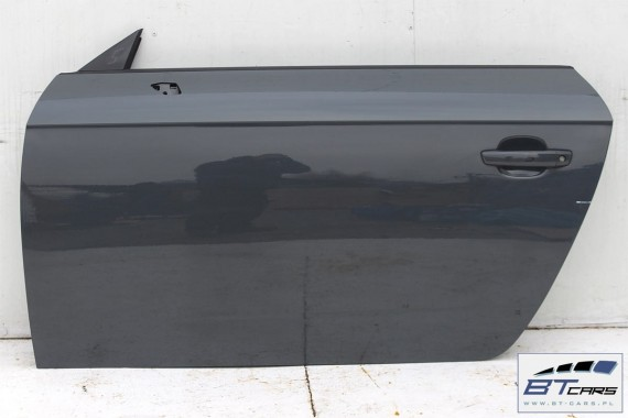 AUDI TT DRZWI LEWE STRONA LEWA LX7M  8S Kolor: LX7M - szary (nano grey metallic)