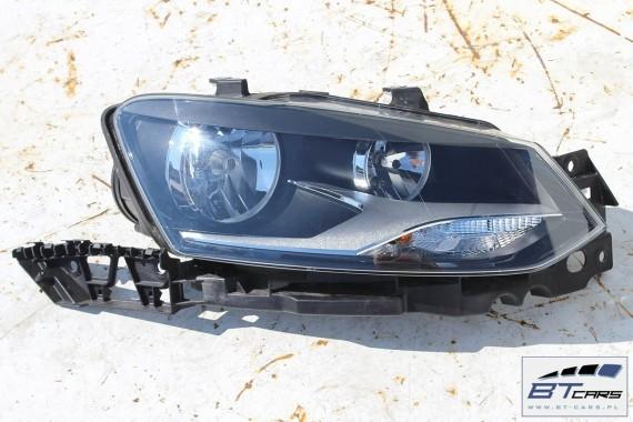 VW POLO 6R L041 PRZÓD maska błotniki zderzak pas przedni lampy wzmocnienie lampa błotnik 6R Kolor: L041 - czarny 6R0 kompletny