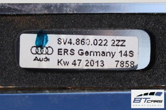 AUDI A3 SPORTBACK RELINGI DACHOWE 8V4860021 8V4860022 reling dachowy 2 sztuki komplet 8V4 860 021 8V4 860 022 8V 2013-